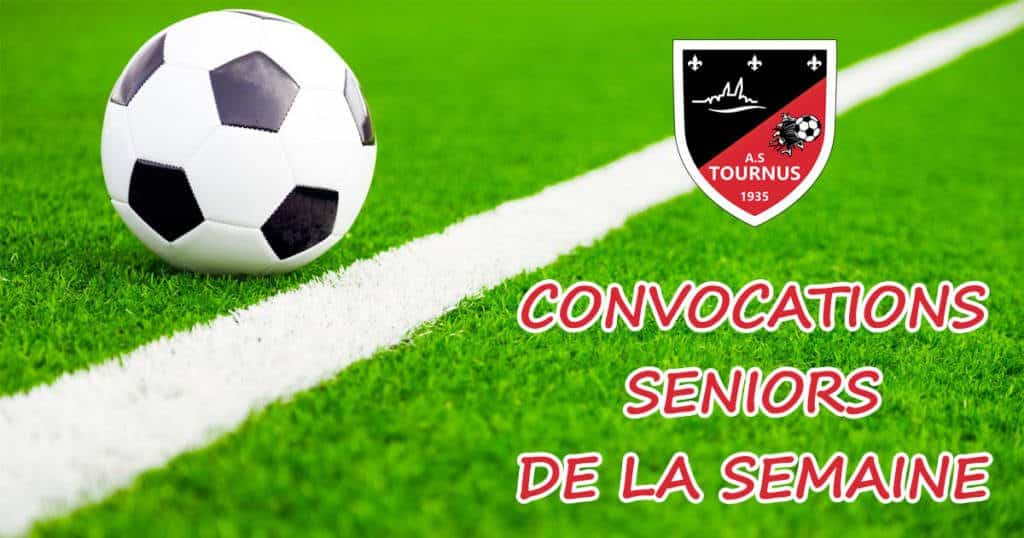 Convocations Senior-A.S.TOURNUS-FOOT