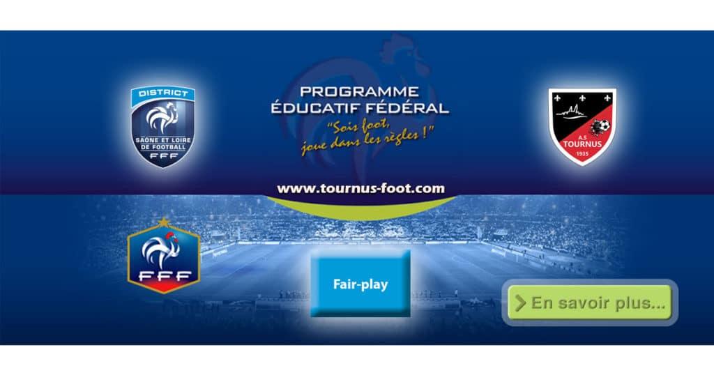 P.E.F-FAIR-PLAY-A.S.TOURNUS-FOOT