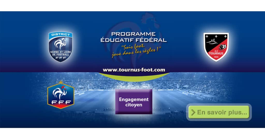 P.E.F - A.S.TOURNUS-FOOT - ENGAGEMENT CITOYEN