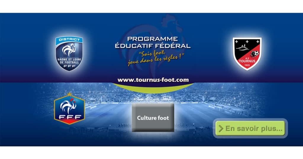 P.E.F-A.S.TOURNUS-FOOT - LA CULTURE FOOT