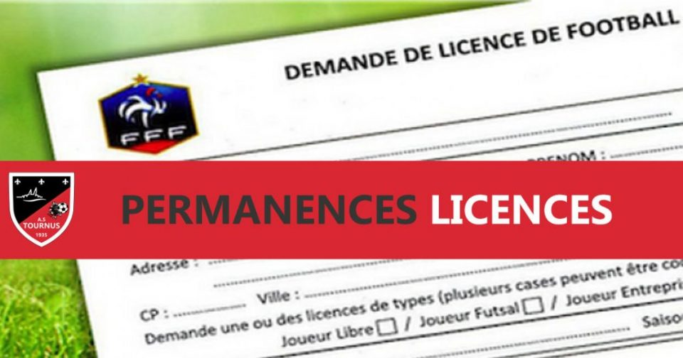 permanences licences 2018-2019 - informations - AST FOOT