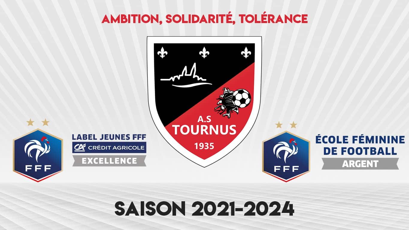 Labels club - as tournus foot 2021-2024