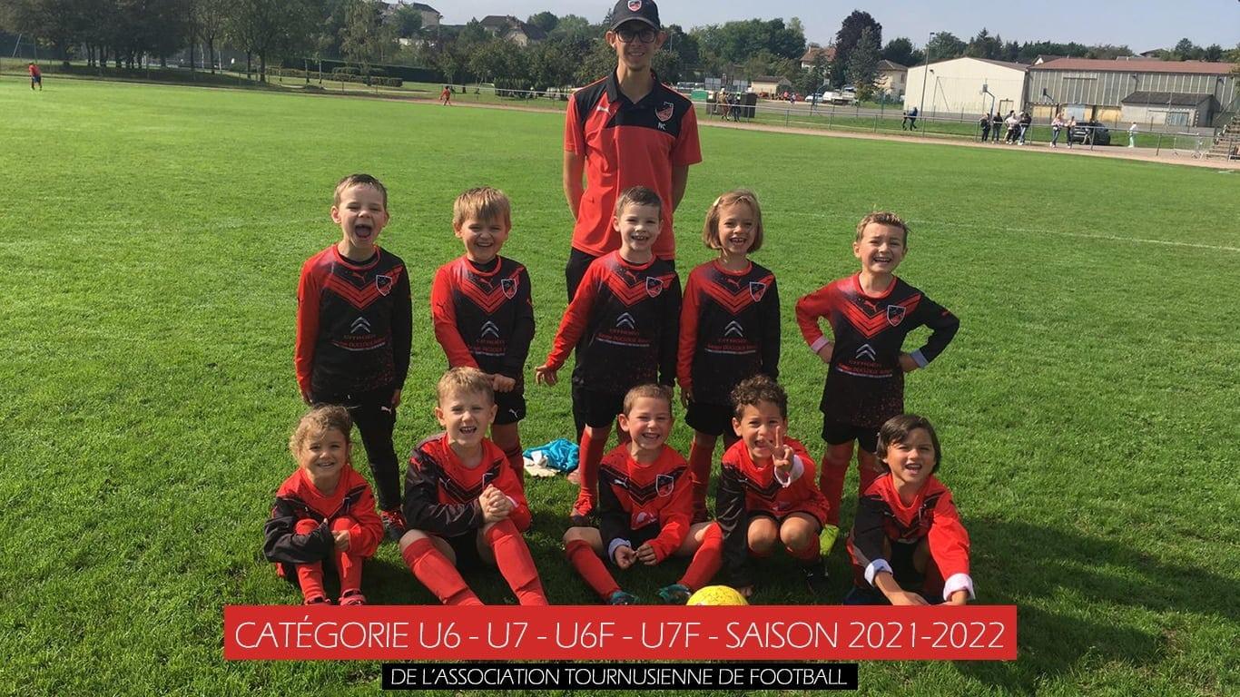 catégories u6-u7-u6f-u7f-saison 2021-2022-A.S.TOURNUS FOOT