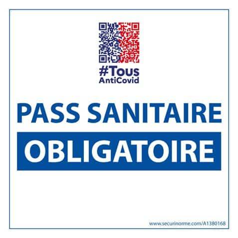 pass sanitaire obligatoire 01-10-2021